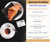 WELCOME BREAKFAST - SERVICE GRUPA
